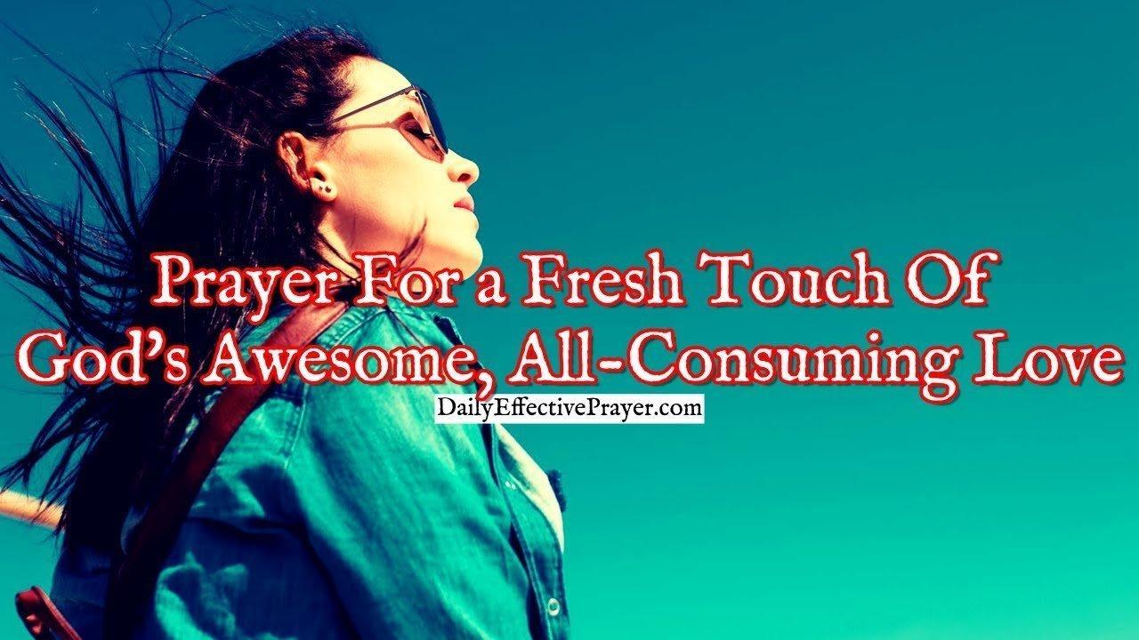 Touch of God's love prayer (Christian)