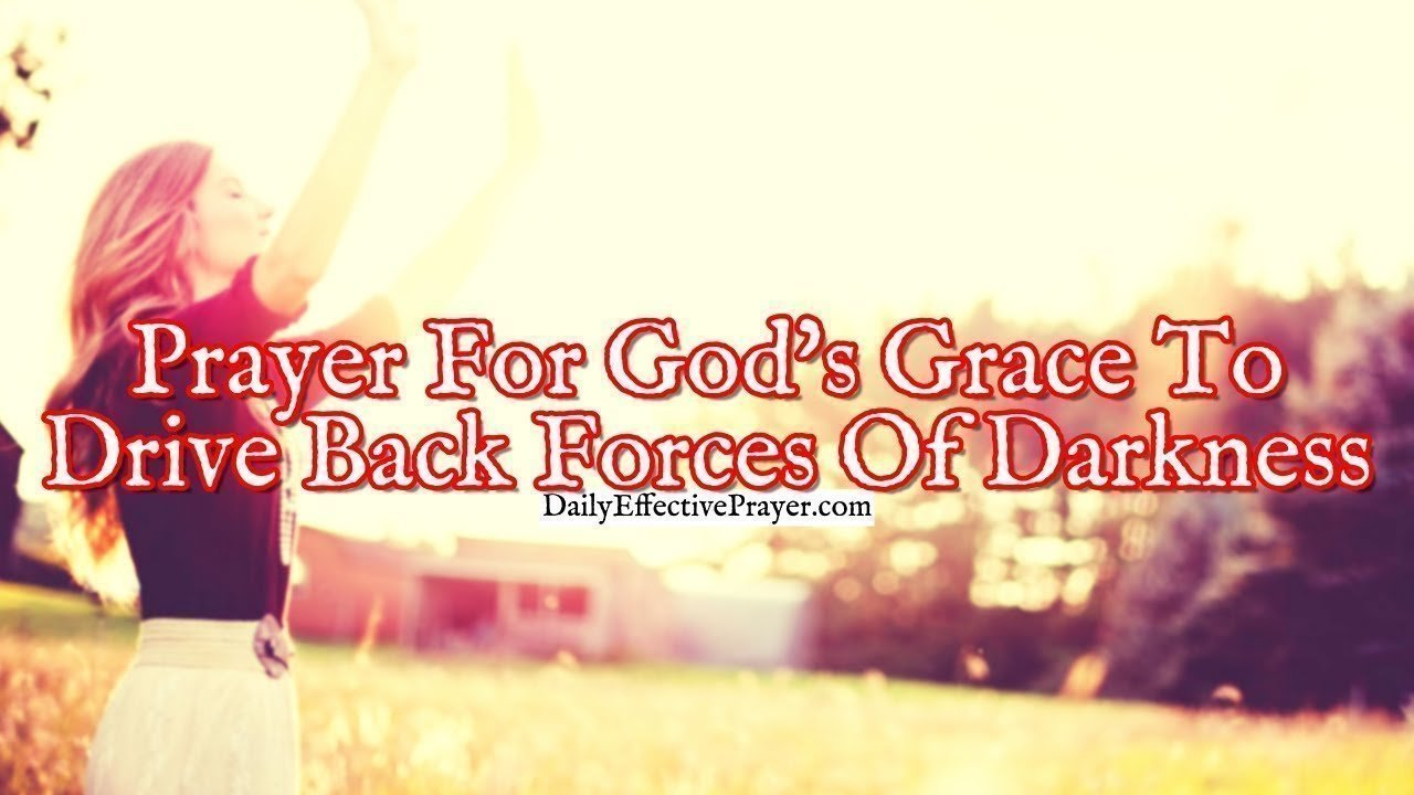 Prayer for grace when the enemy attacks.