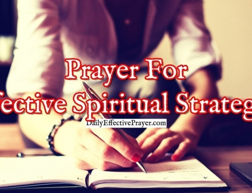 Prayer For Effective Spiritual Strategies To Destroy The Devil's Plans