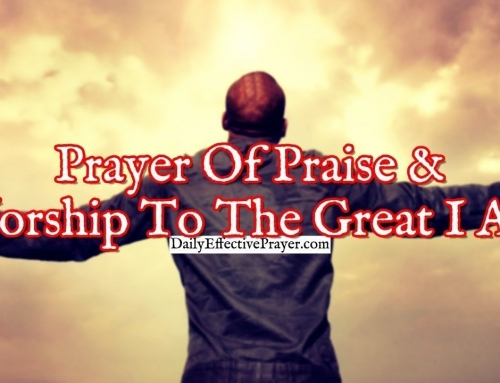 Prayer Of Praise and Worship To The Great I Am
