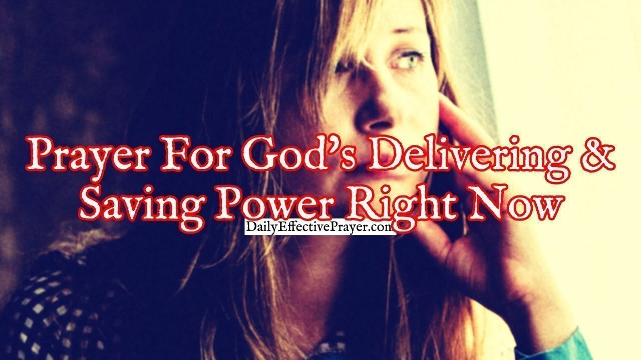 Pray this to see God's power move mightily in your situation.