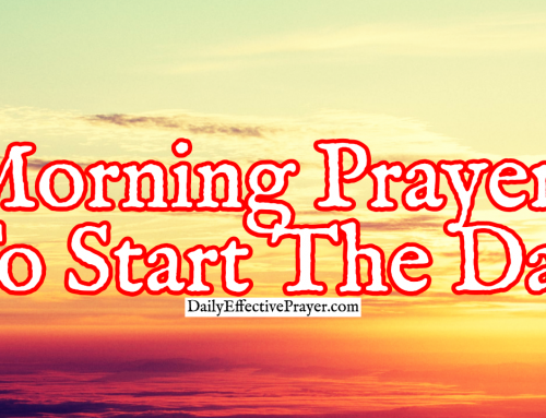 Powerful Morning Prayers To Start The Day