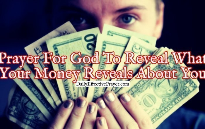 Pray this financial prayer so God can show you where finances fit in your life.