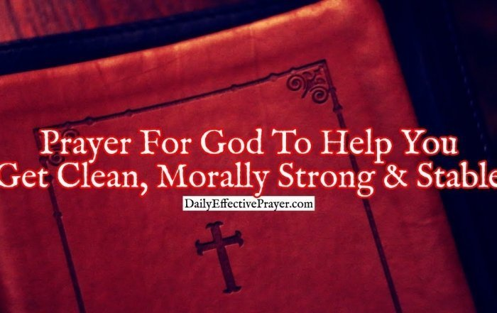 Pray this prayer to be cleansed and strengthened.