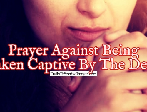 Prayer Against Being Taken Captive By The Devil To Do His Will