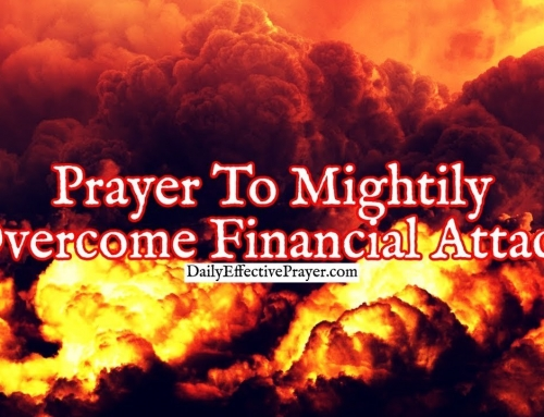 Prayer To Mightily Overcome a Financial Attack