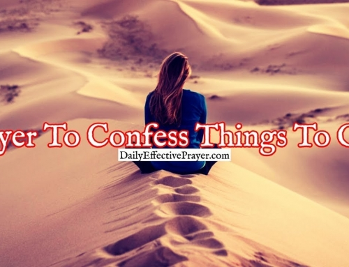 Prayer To Confess Things To God That You're Secretly Struggling With