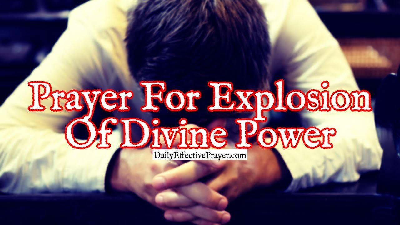 Pray this prayer to release the Lord's power in your life.