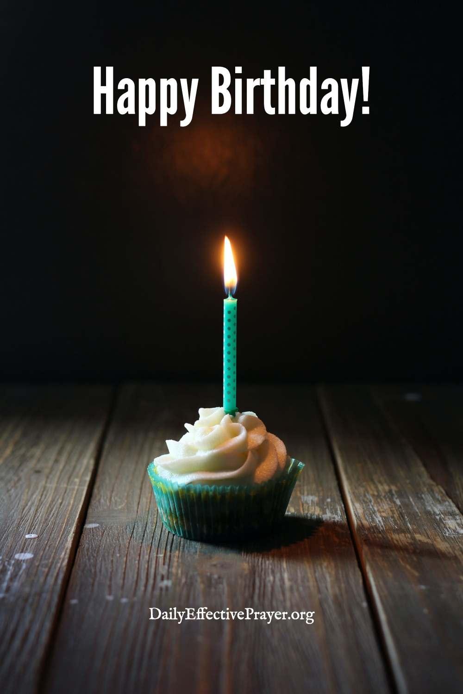 Birthday wishes and prayers.
