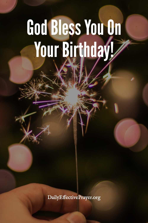 Christian birthday wishes.