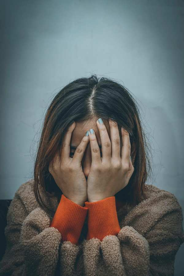Frustrated and angry woman who needs prayer.