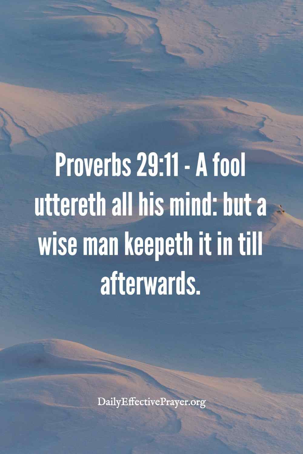 Proverbs 29:11 anger scripture.
