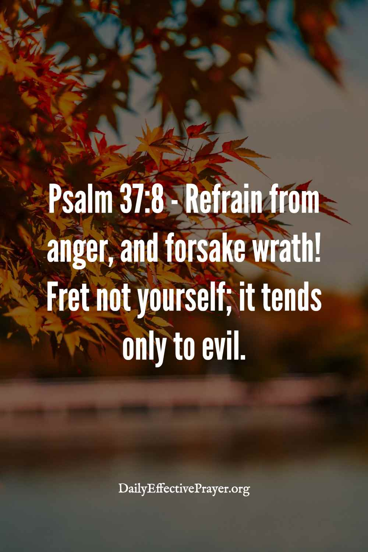 Psalm 37:8 anger scripture verse.