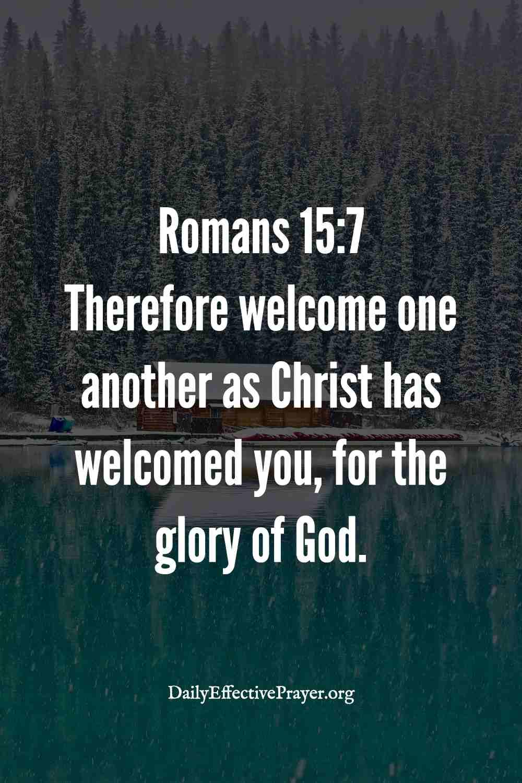 Scripture verses on acceptance.